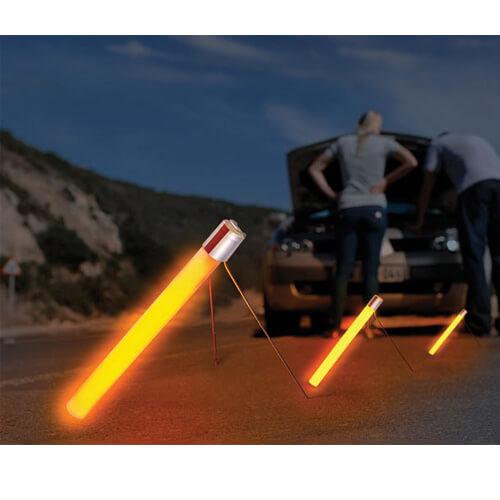 8'' Ultra High-Intensity Flare Alternative® - 30 Min Orange