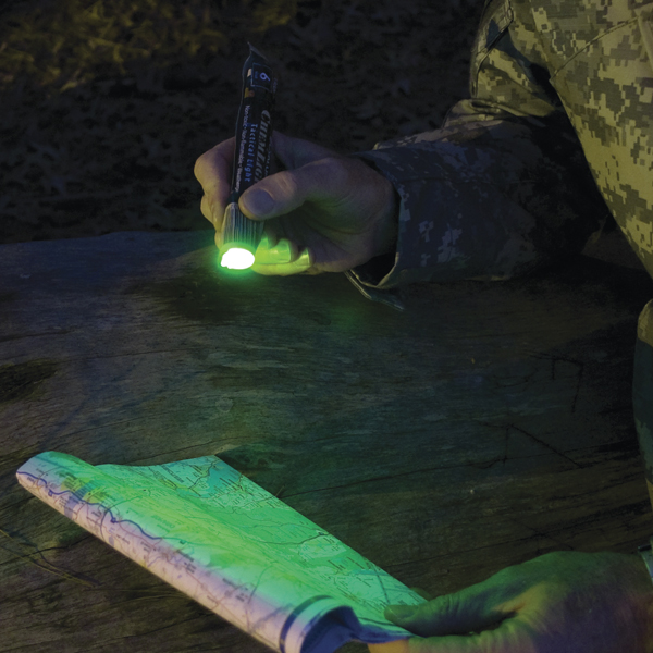 6 Inch Green ChemLight - Flashlight