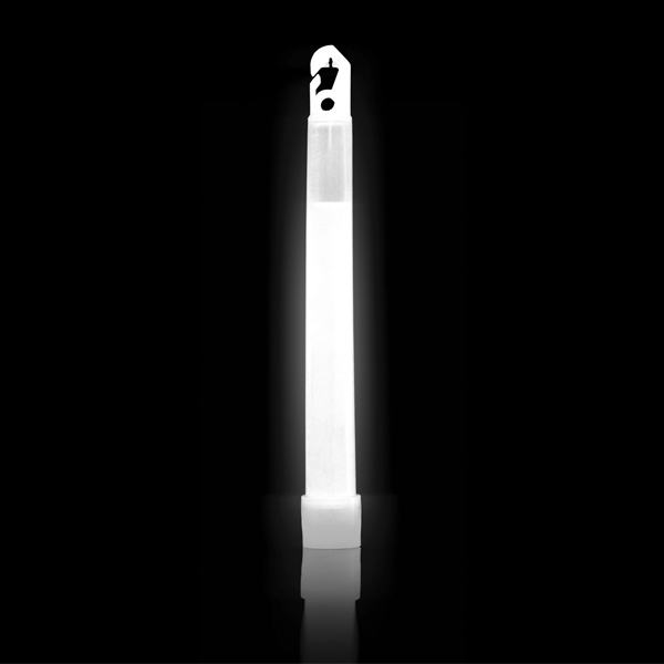 6 Inch White ChemLight -- Glowing Cyalume Light Stick