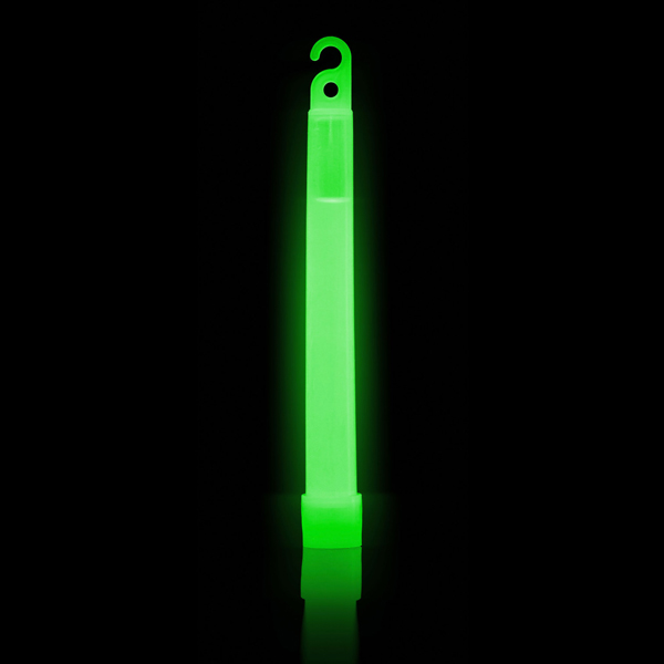 6 Inch Green SnapLight - Glowing Light Stick