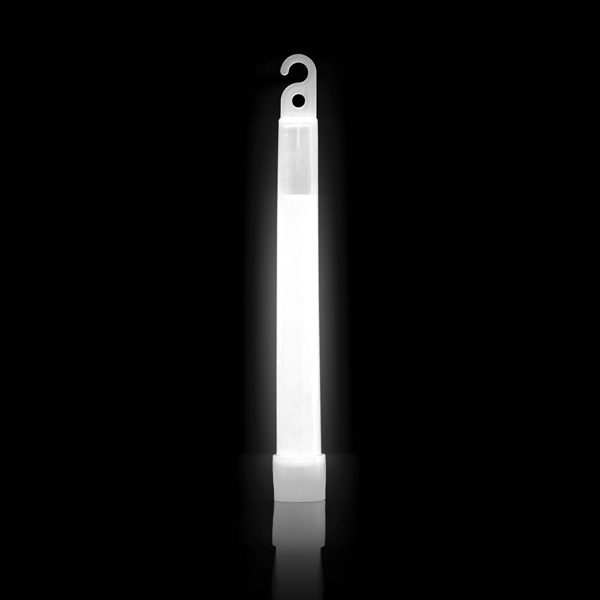 6 Inch White SnapLight - Glowing Light Stick