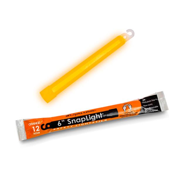 6 Inch Orange SnapLight