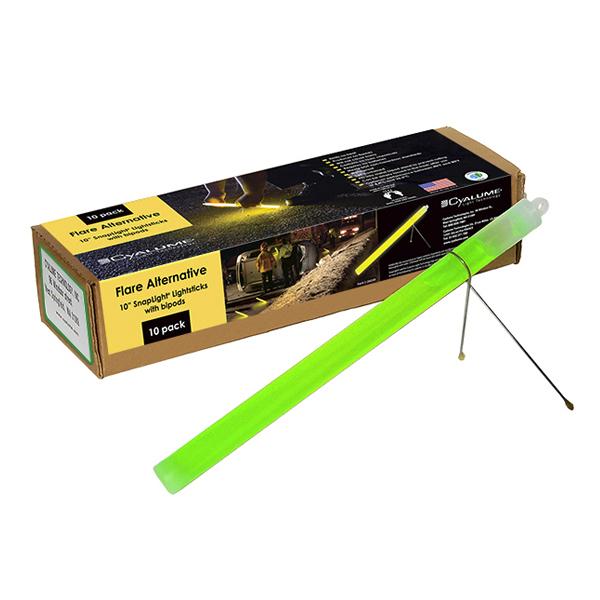 Green Cyalume Emergency Flare Sticks