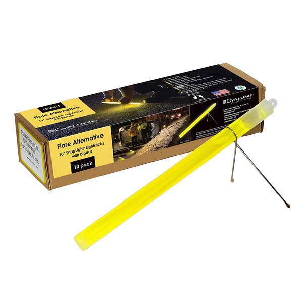 Yellow Cyalume Flare Alternative