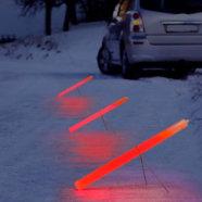 Red Cyalume Emergency Roadside Flare