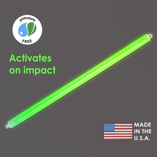 15″ Green Cyalume Impact Stick
