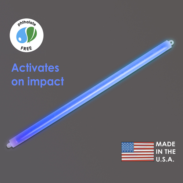 15″ Blue Cyalume Impact Stick