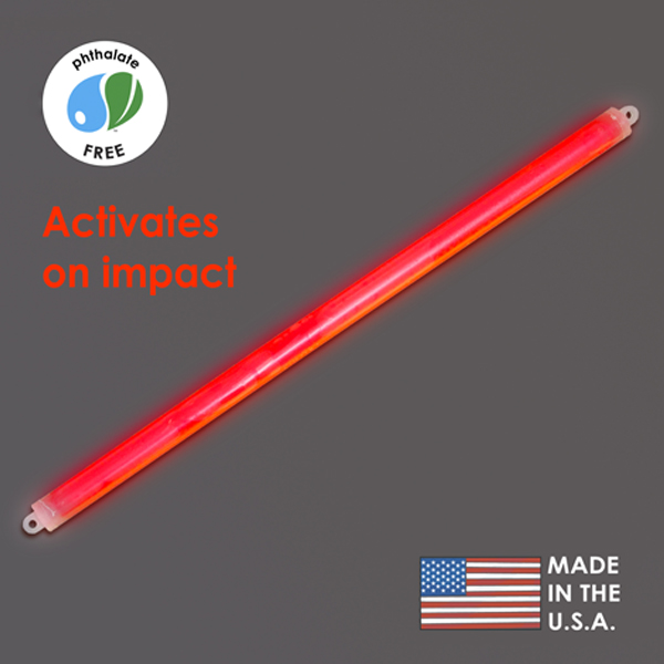 15″ Red Cyalume Impact Stick