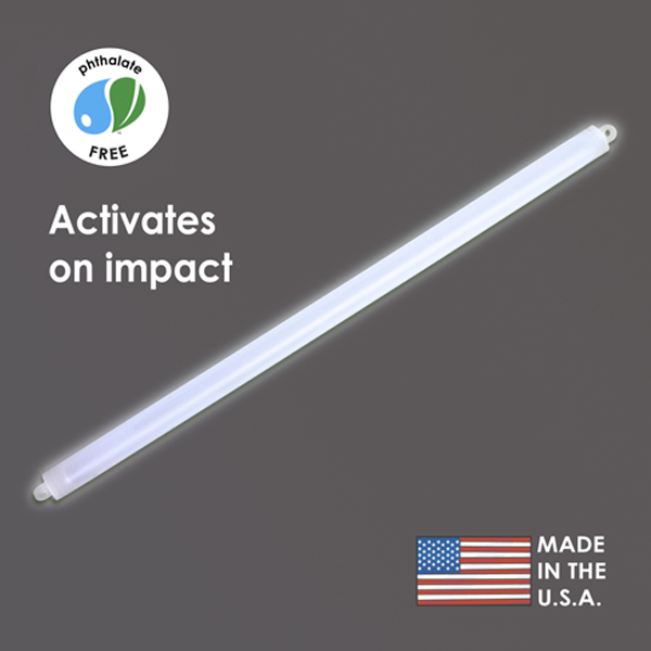 15″ White Cyalume Impact Stick