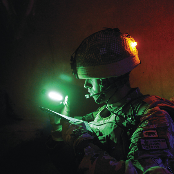 Cyalume Light Shield For Combat And Tactical Applications