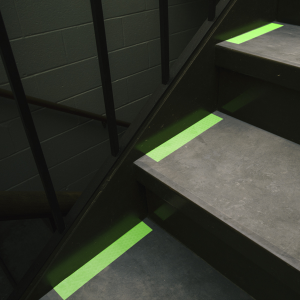 Cyflect Luminous Egress Tape - Stairs
